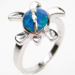 Sea Turtle Ring Size 9