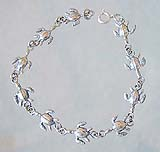 Sterling Silver Sea Turtle Bracelet
