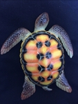 "8"" Sea Turtle Wall Statue #A"