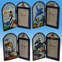 Nautical Photo Frames - Set of 4