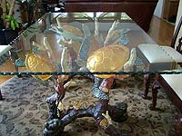 Fine Art Sea Turtle Dining Table